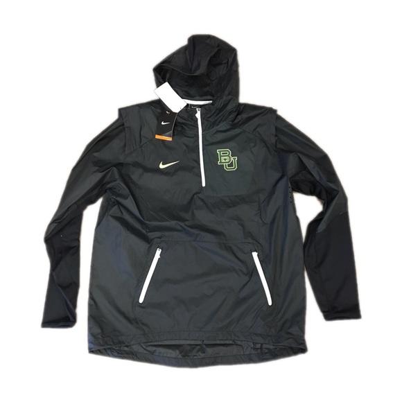 the best attitude cf6d8 f8543 Baylor Bears Nike Men's Vapor Fly Rush Jacket XL NWT
